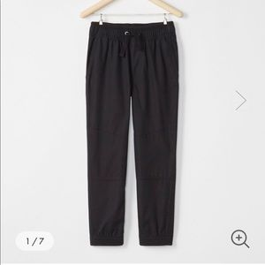 Hanna Andersson double knee woven jogger pants